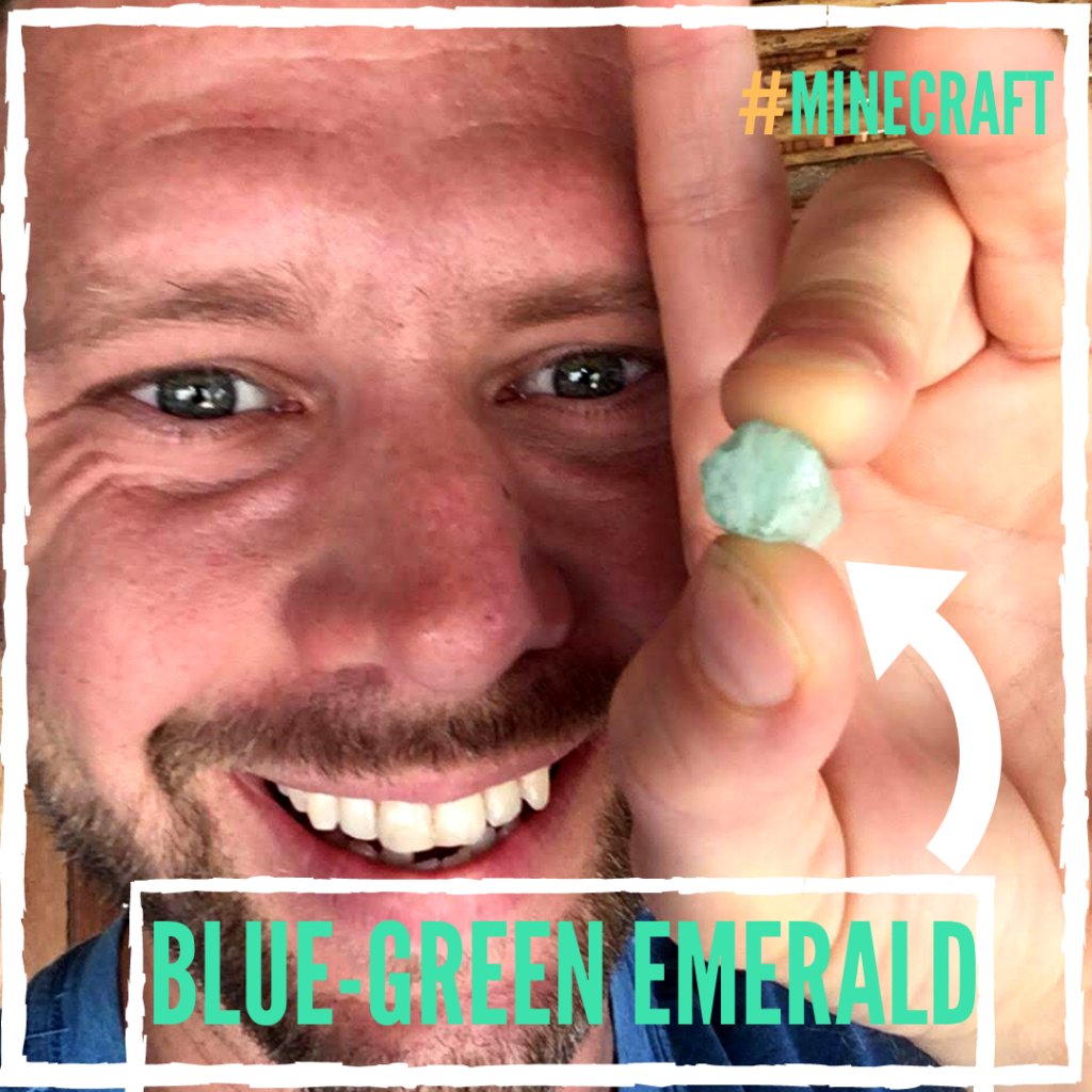 Minecraft emerald blue