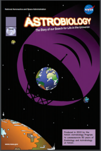 NASA atrobiology comic book graphic novel issue 1
