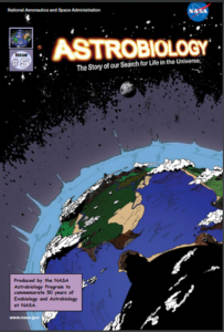 NASA atrobiology comic book graphic novel issue 2