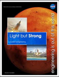 NASA NGSS engineering lesson light but strong
