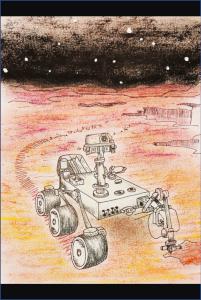 NASA life on Mars coloring book