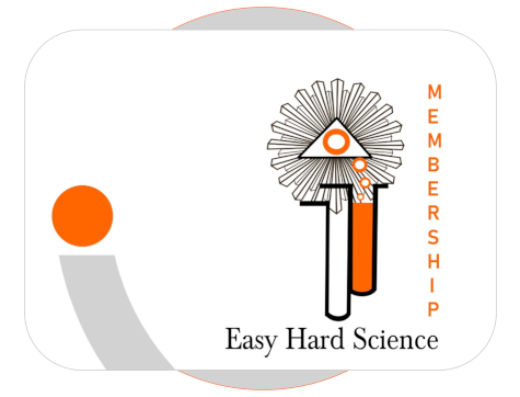 easy hard science membership card